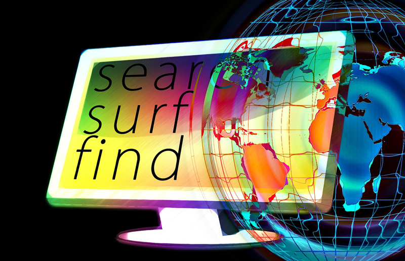 Google Suchalgorithmus - im Internet surfen
