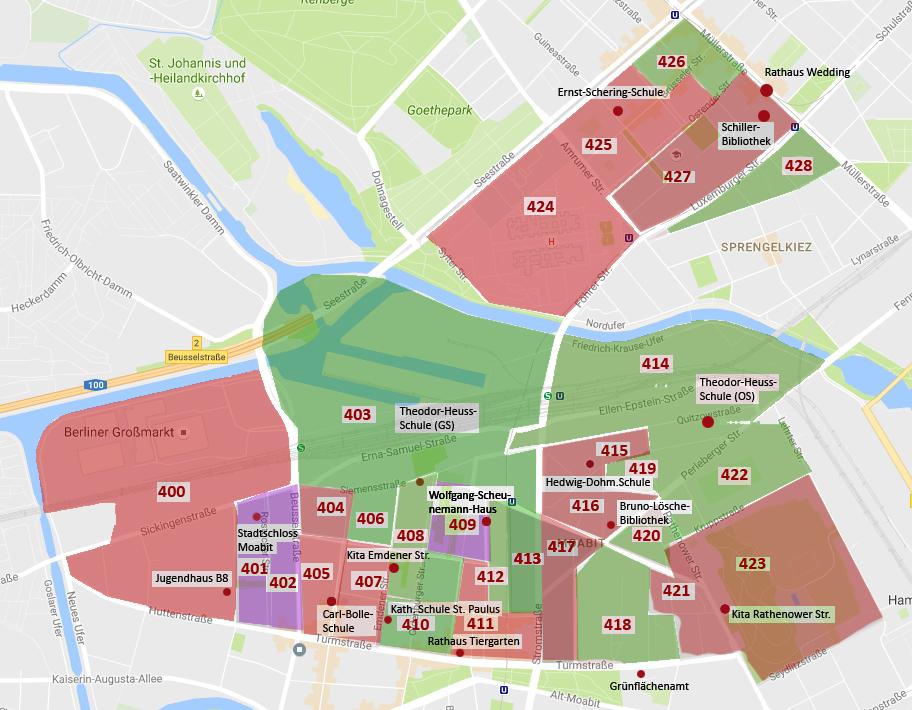 Landtagswahl in Berlin 2016 - Ergebnis Wahlkreis Mitte 04