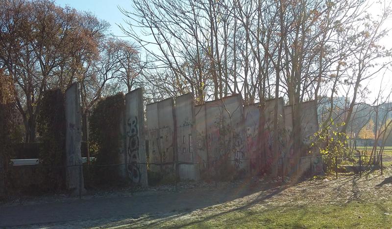 Gedenkstätte Berliner Mauer - Echte Mauerreste