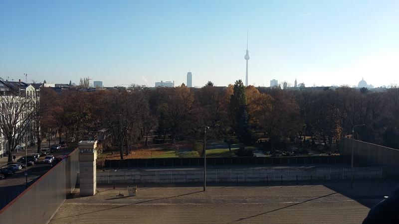 Gedenkstätte der Berliner Mauer - Wachturm im Grenzgebiet