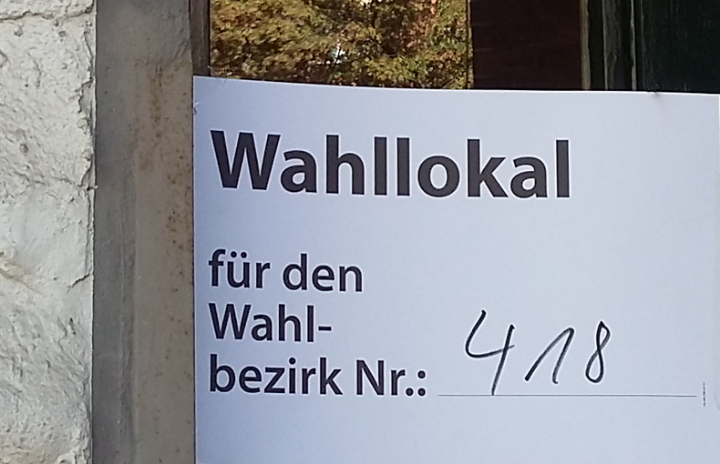 Landtagswahl in Moabit (Mitte 04)