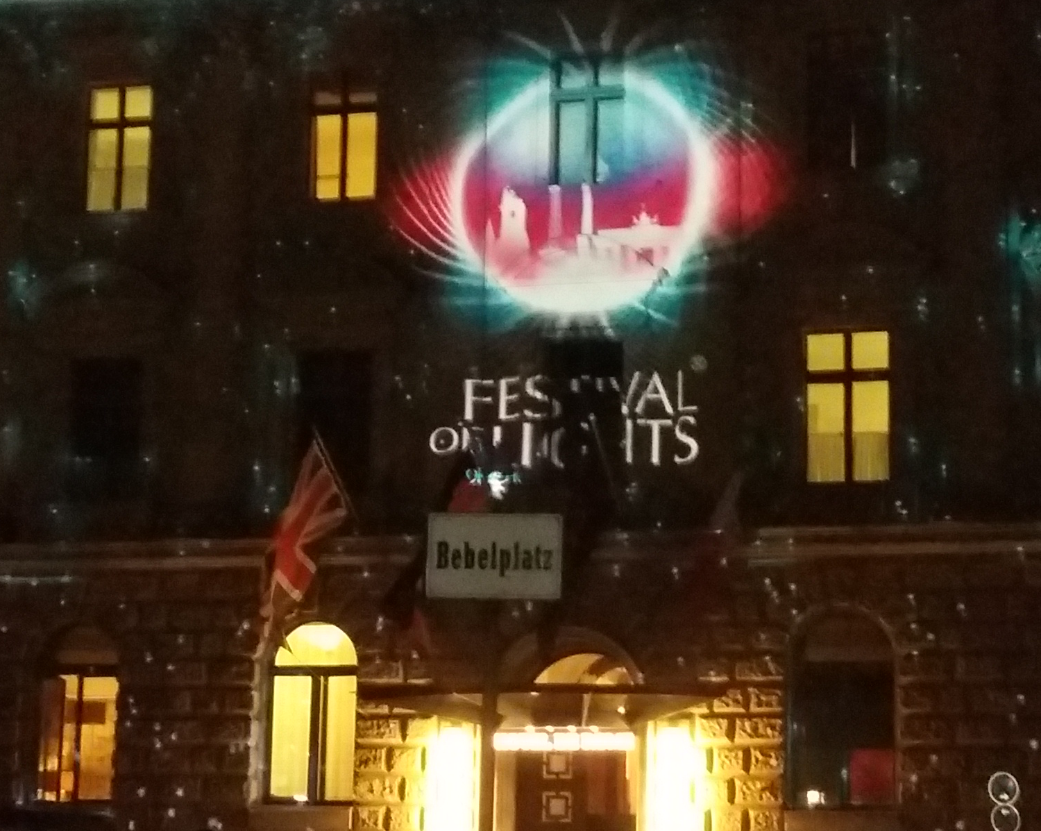 Festival of Lights 2016 - Hotel de Rome