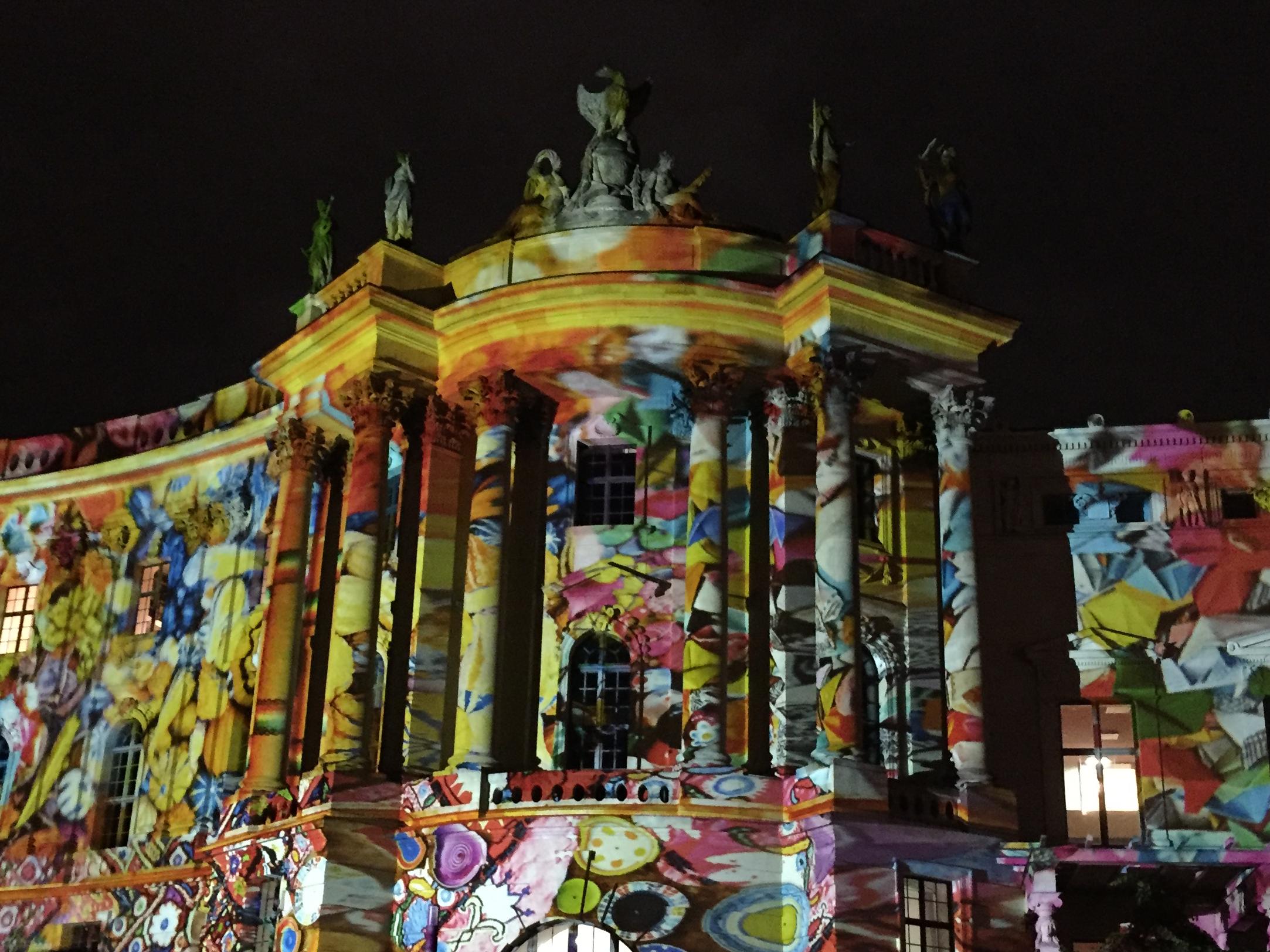 Juristische Fakultät der Humbolt-Universität-Festival of Lights 2016