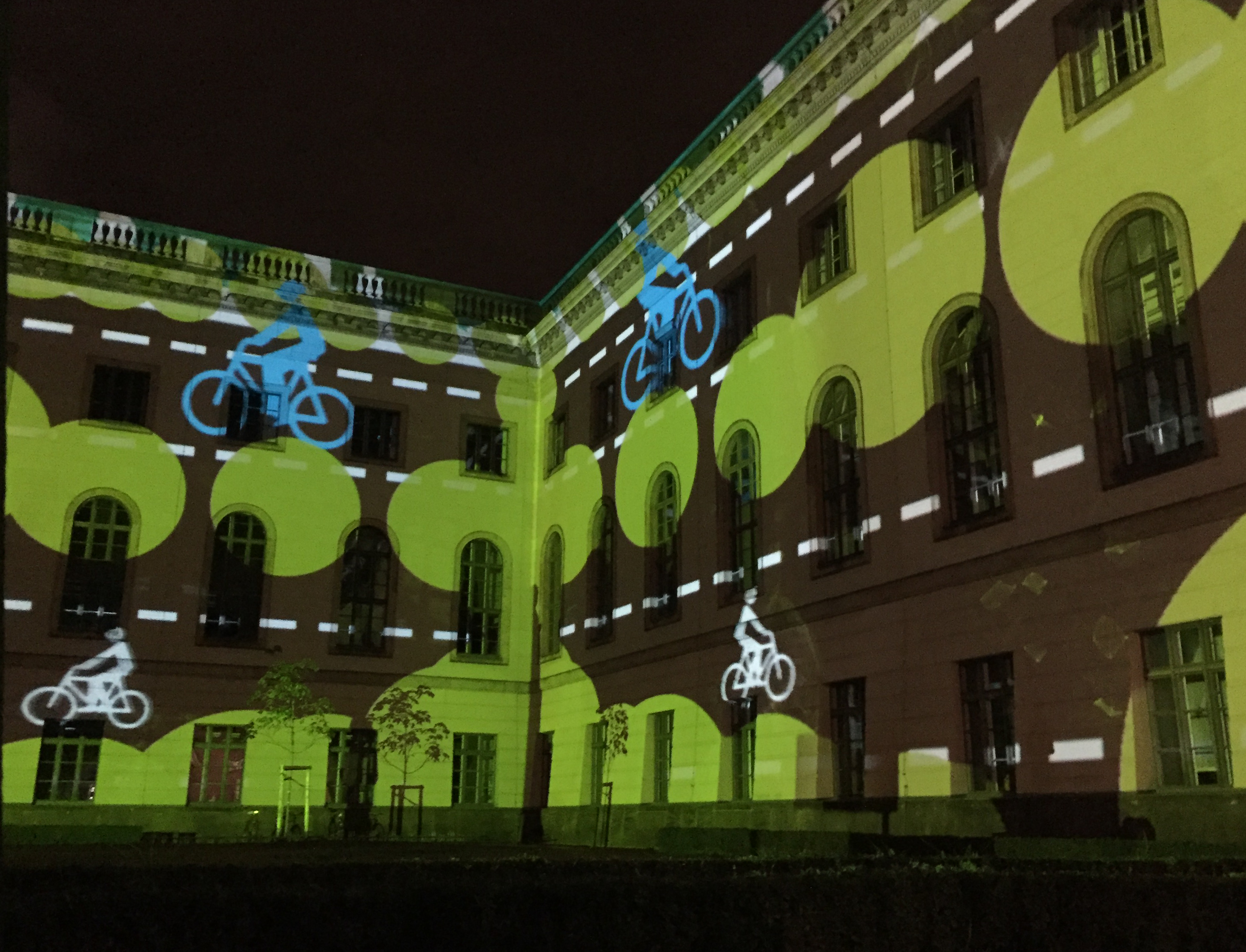 Humbolt-Universität-Festival of Lights 2016