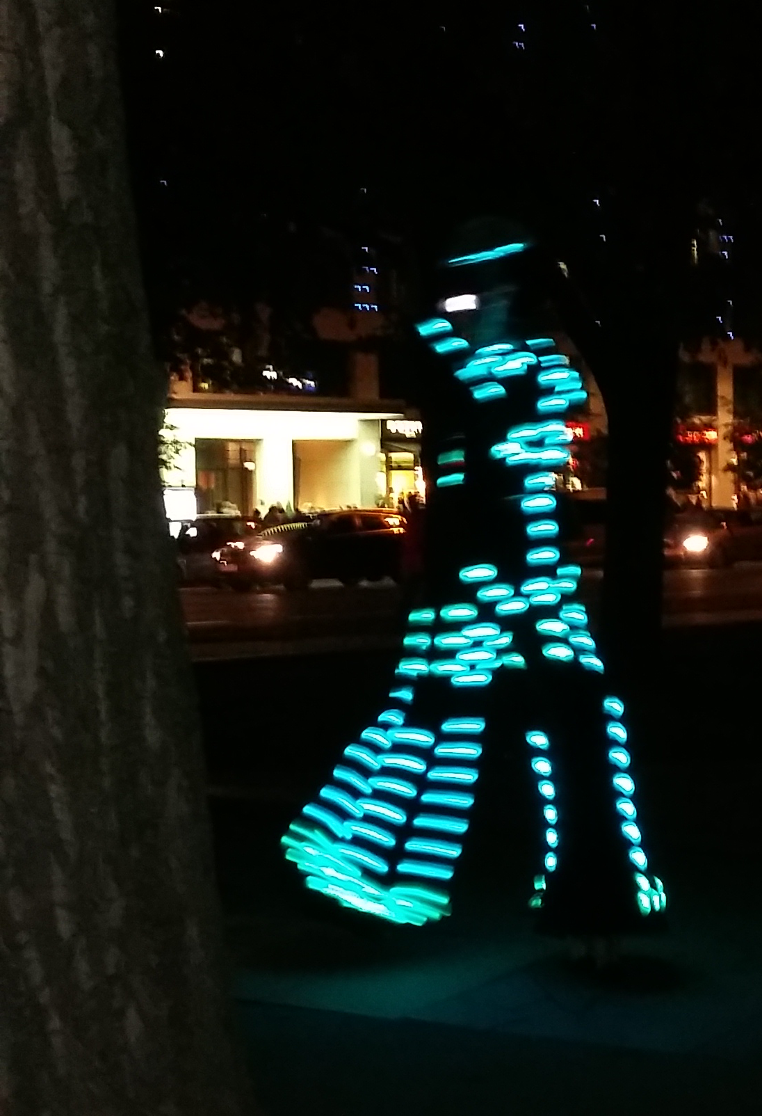 Festival of Lights 2016 - Lightwalker