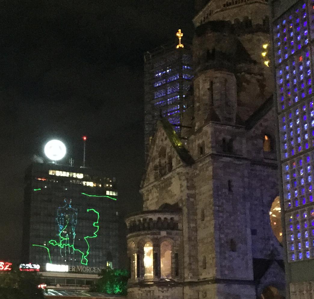Berlin leuchtet 2016 - Kaiser-Wilhelm-Gedächtniskirche und Europa-Center