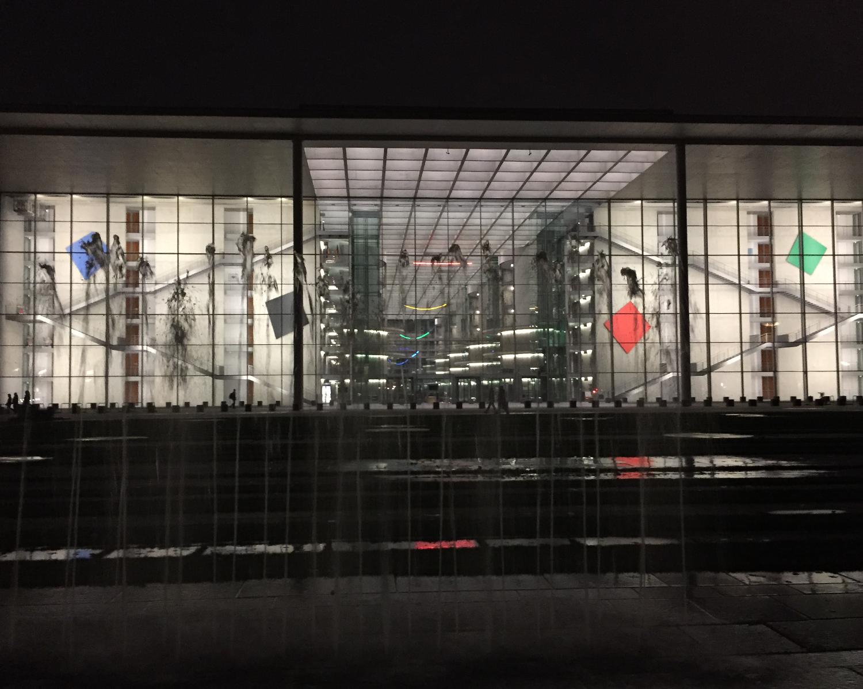 Paul Löbe Haus leuchtet 2016