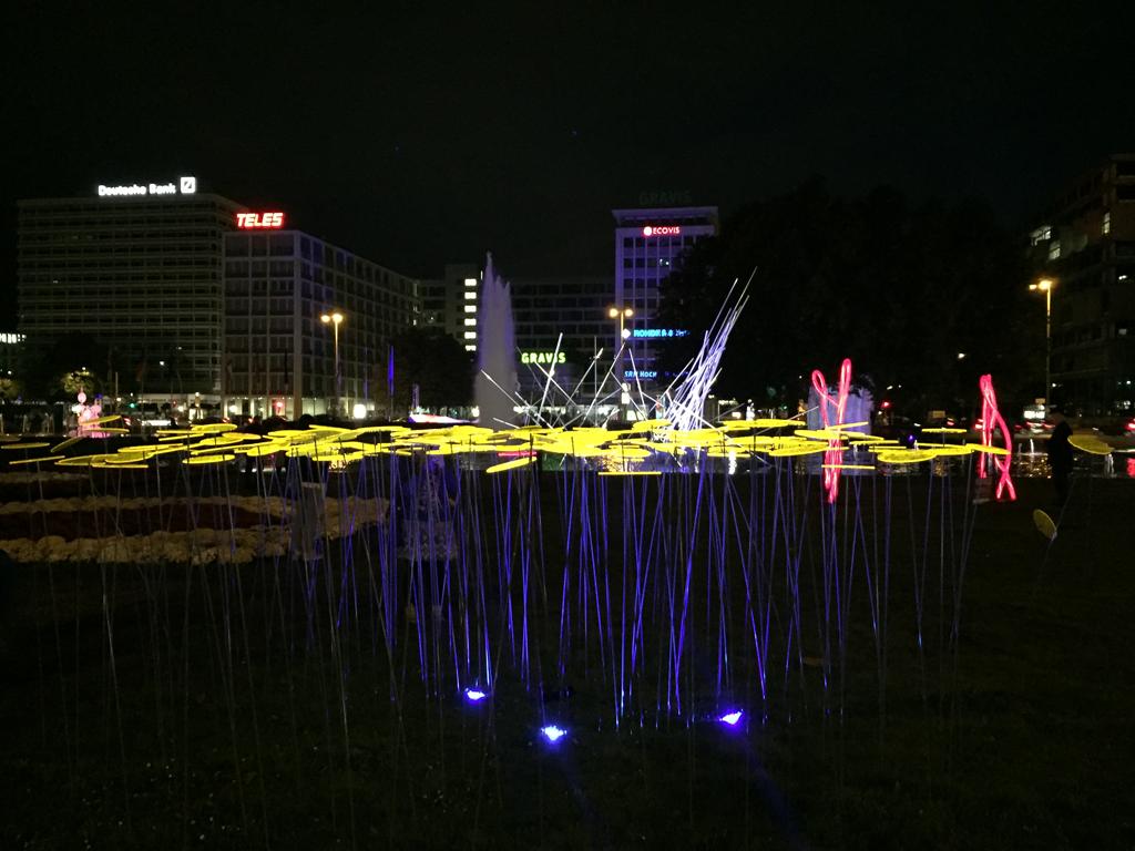 Berlin leuchetet 2016 - Ernst Reuter Platz