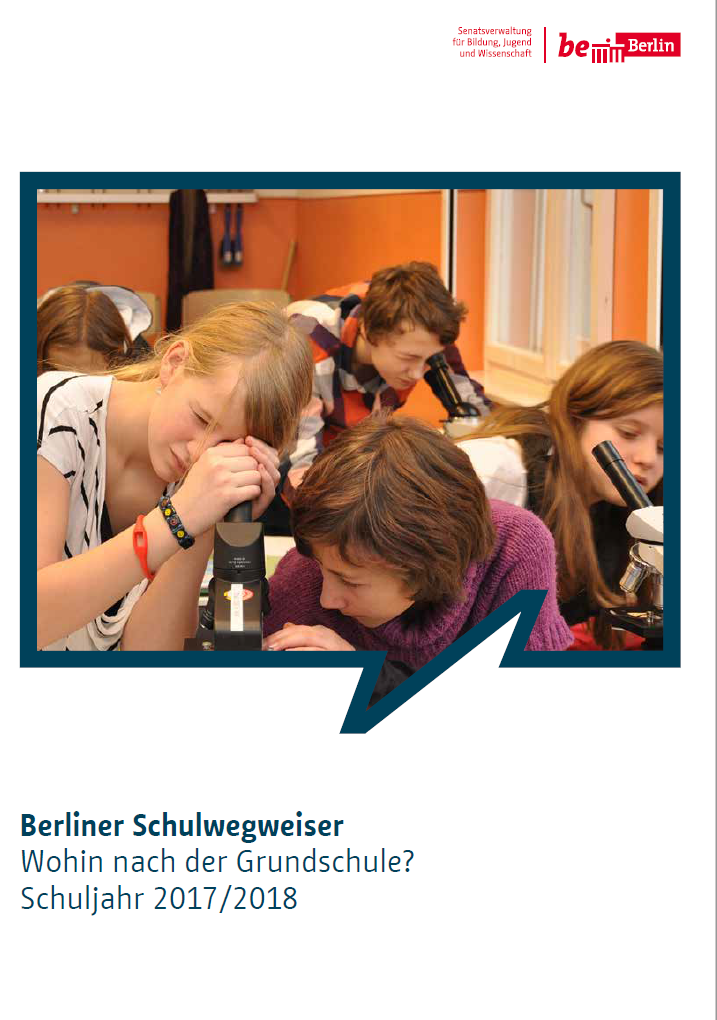 Berliner Schulwegweiser 2017/2018