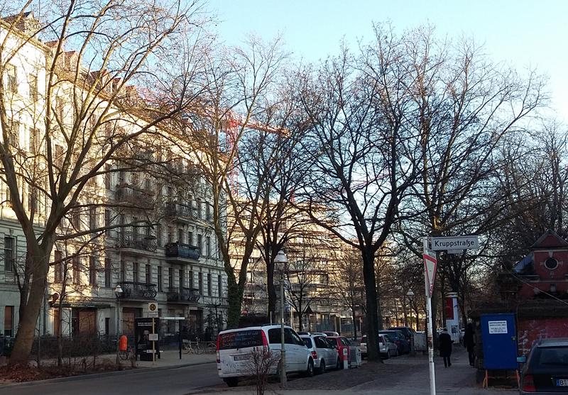 Bauprojekt Europacity - Wohnungsbau an der Lehrter Straße