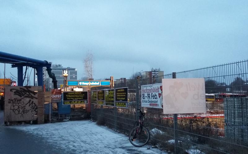 Berlin - Bauprojekt Europacity am Hauptbahnhof