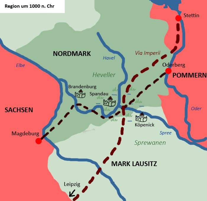 Berlins erste Siedler - Die Region um 1000 n. Chr