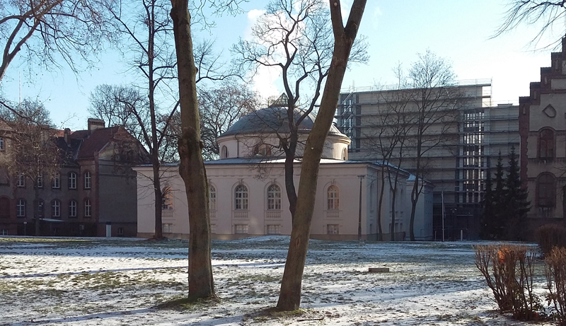 Das Tieranatomische Theater ist das älteste Lehrgebäude der heutigen Humboldt-Universität.