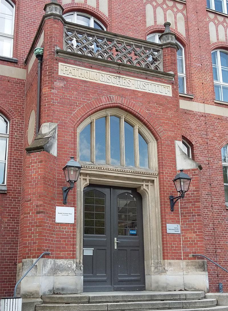 Das Institut für Pathologie der Carite am Campus Mitte Virchowweg 15