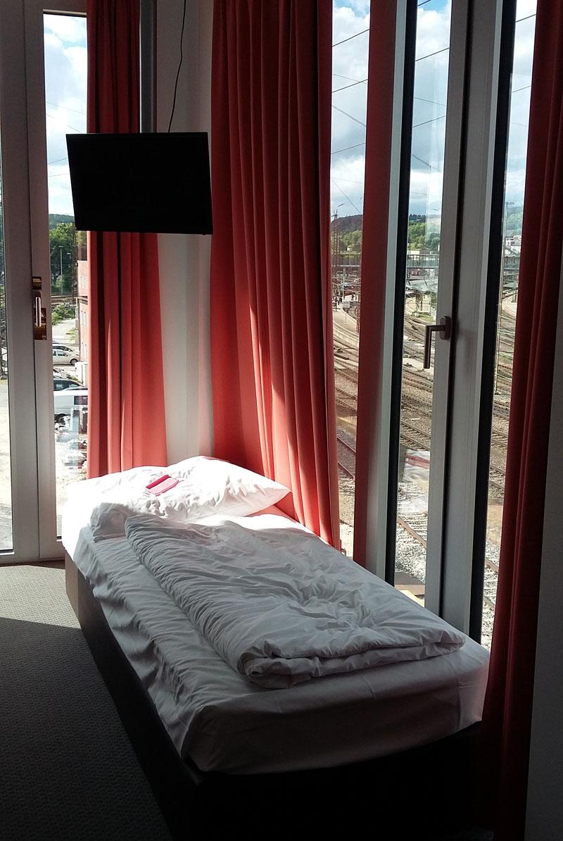 Zimmer 311 im BB Hotel in Ulm