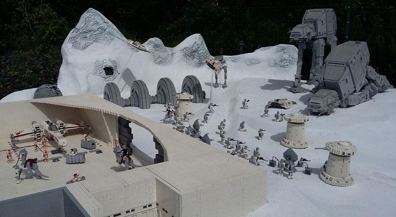 Legoland - StarWarsecke im Miniland