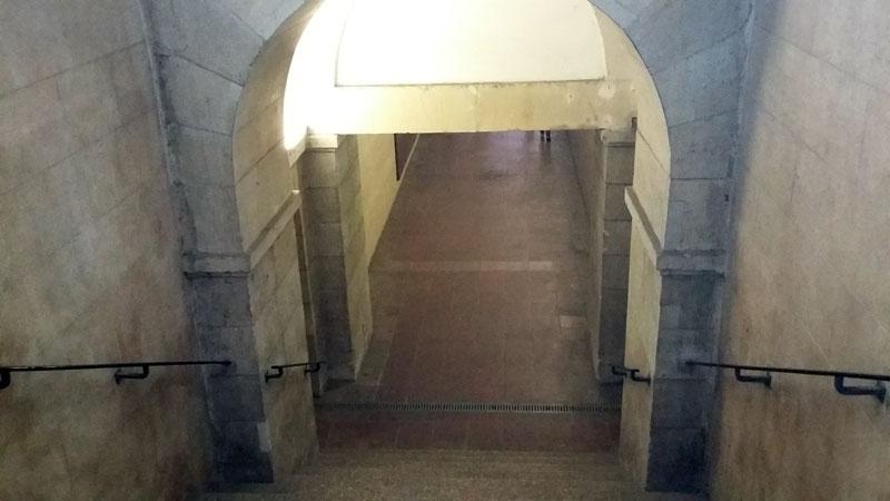 Goldelse - Eingan zum unterirdischen Fußgängertunnel
