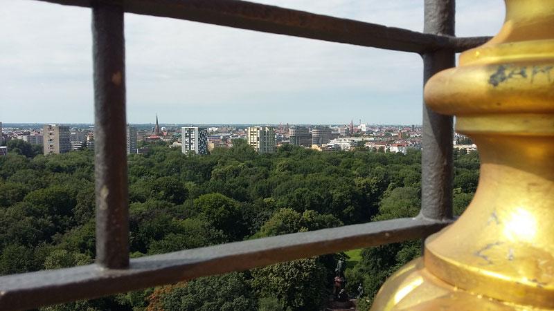 Auf der Berliner Siegesäule (Goldelse)