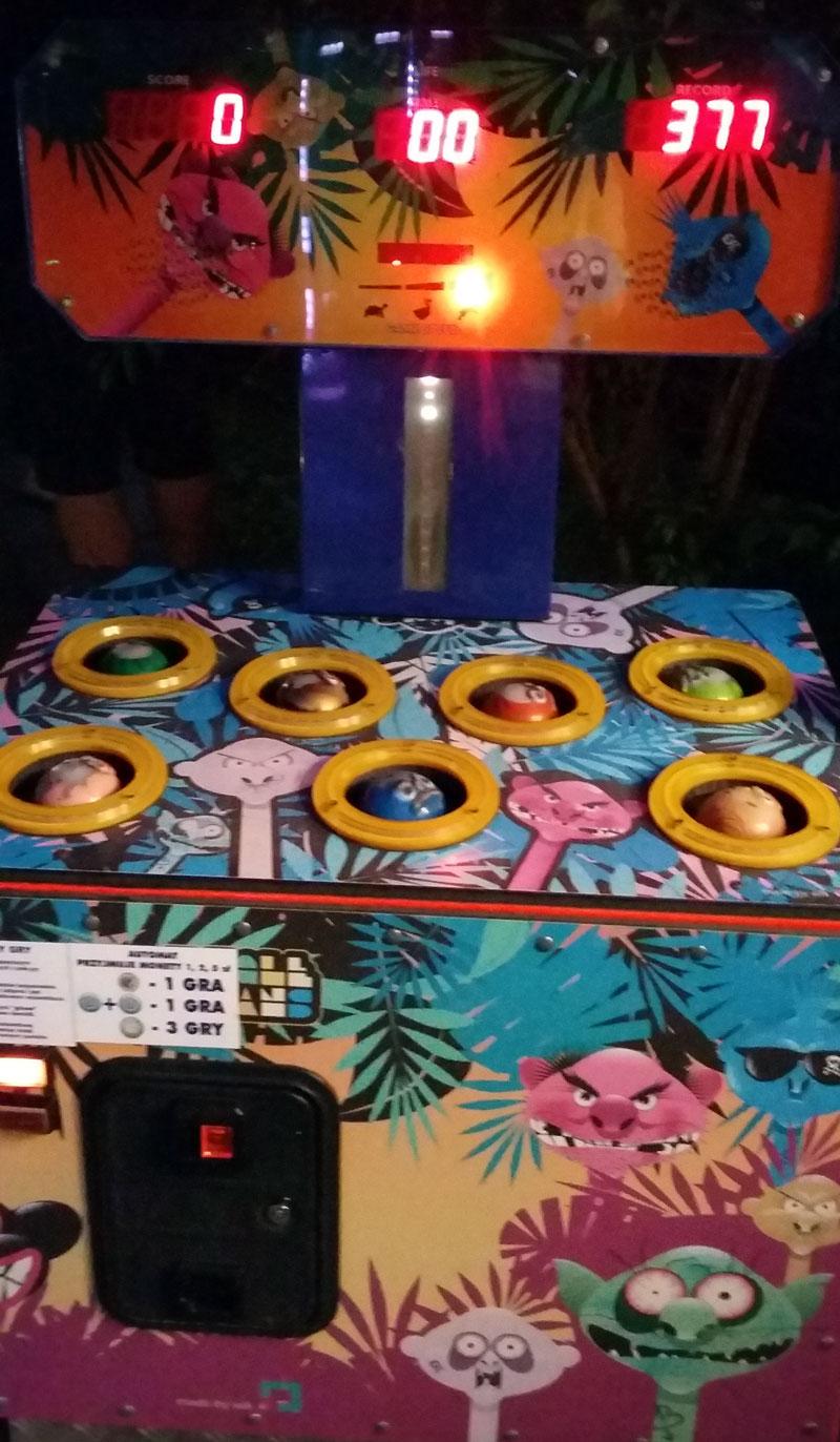 Swinemünde - Blinkendes lustiges Hau-Drauf-Spiel