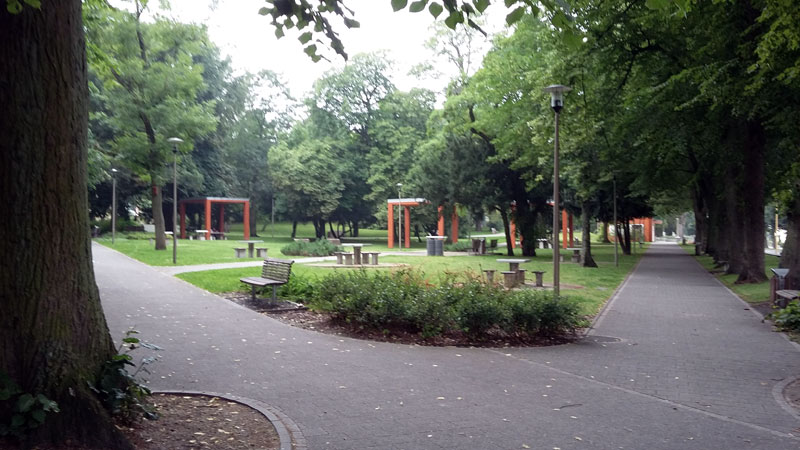 Park in Swinemünde