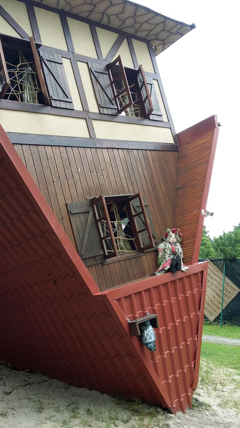 Swinemünde - Das schiefe Haus von außen