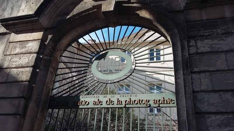 Arles - Tor der École Nationale Supérieure de la Photographie (ENSP) - gegenüber der Fondation van Gogh