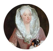 Königin Sophie Dorothea von Braunschweig-Lüneburg - Ölbild von Antoine Pesne 1737