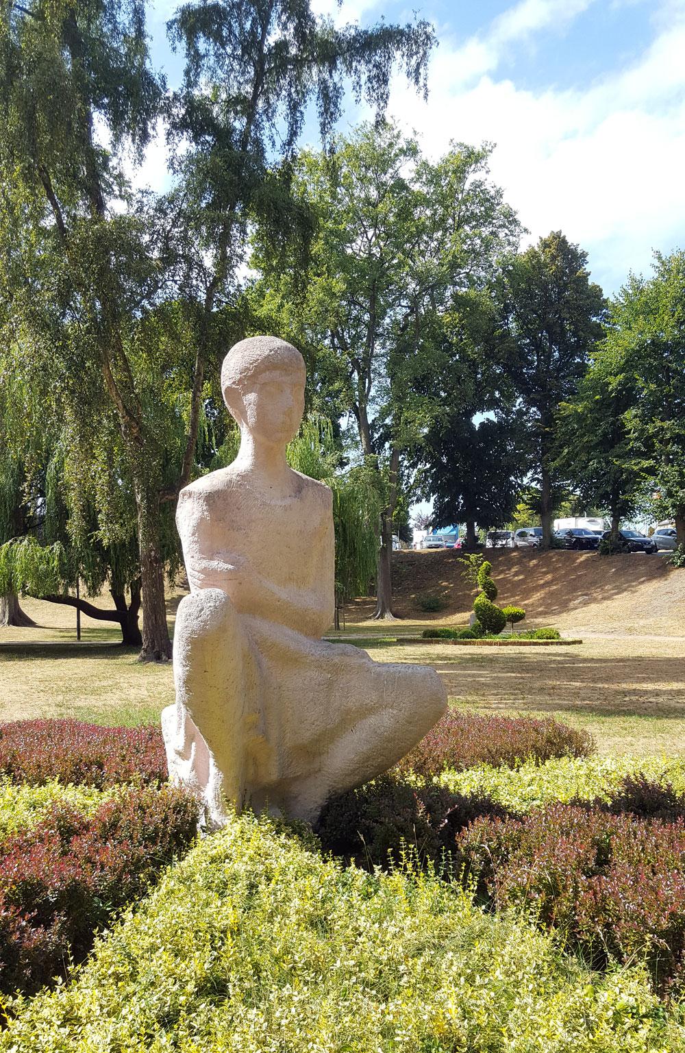 Chopin-Denkmal im Kurpark Fryderyk Chopin