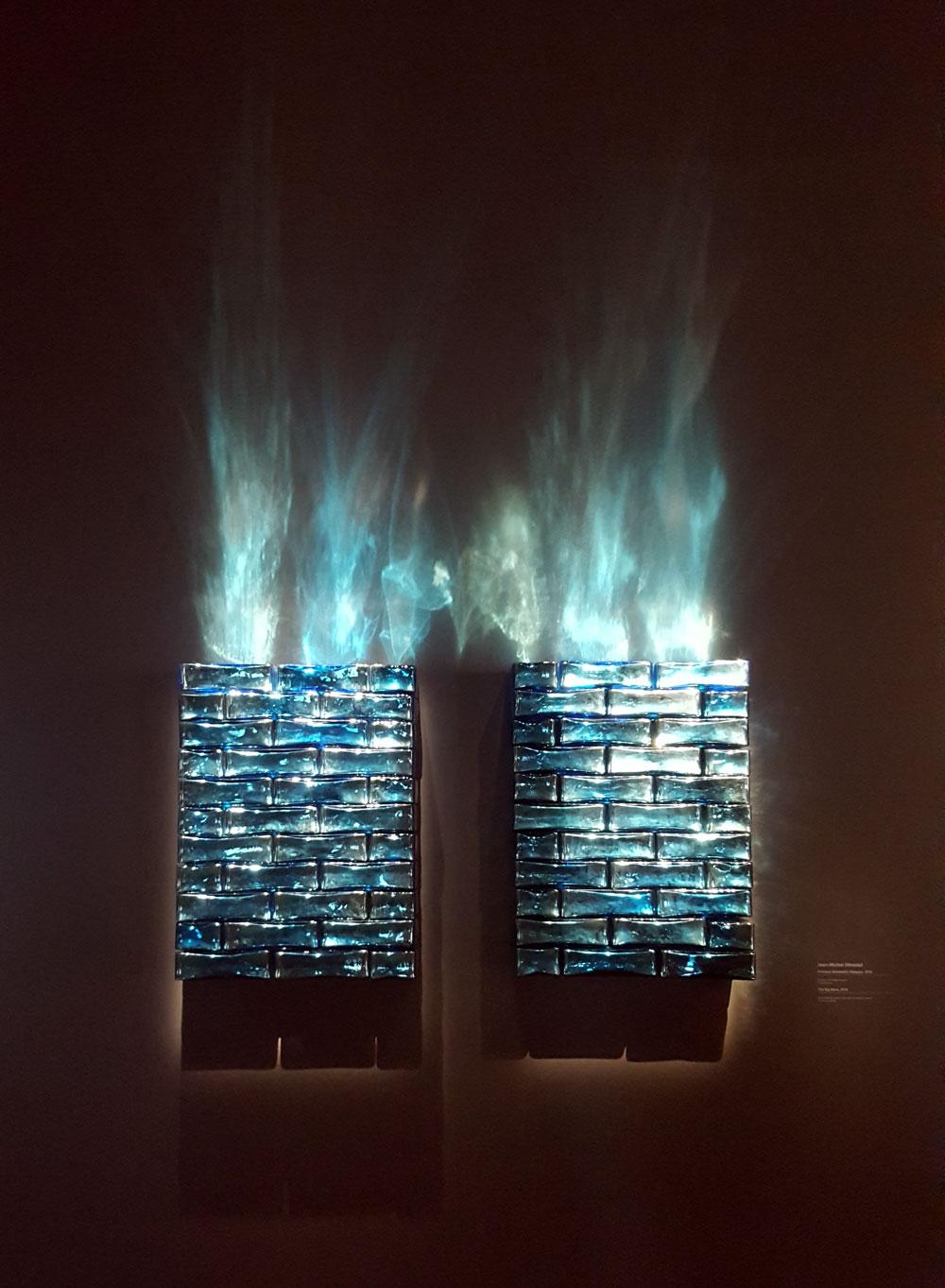 Centre Pompidu - Kunstwerk von Jean-Michel Othoniel