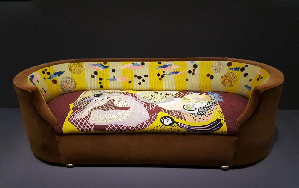 Centre Pompidu - kunstvolles Sofa