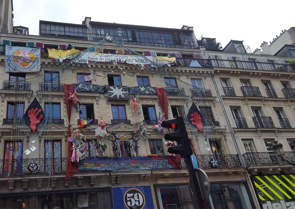Künstlerhaus 59 Rivoli in der Rue de Rivoli in Paris