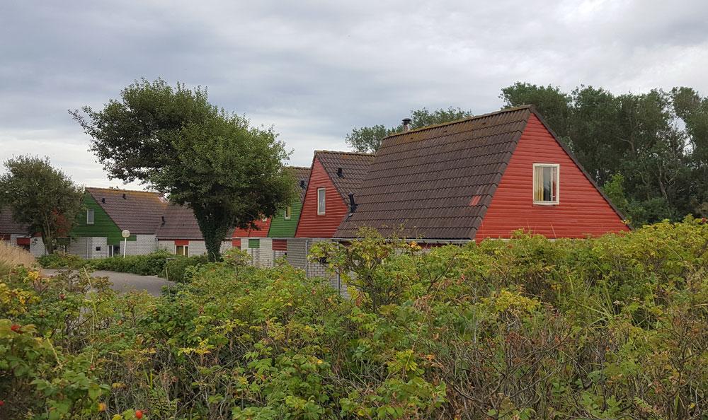 Bungalows im Centerpark Zandvoort in Holland