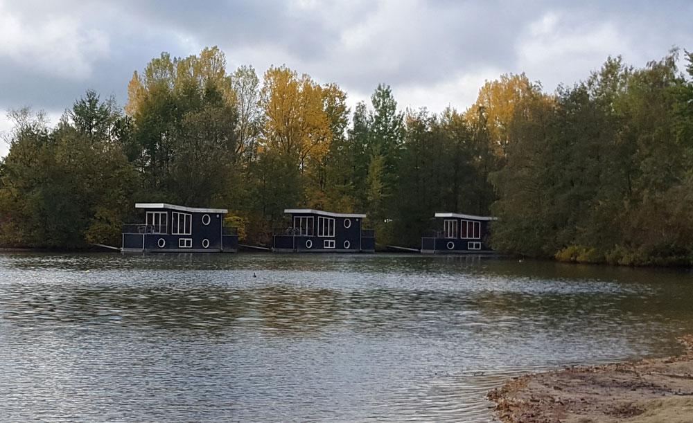 Hausboote im Centerpark Bispinger Heide