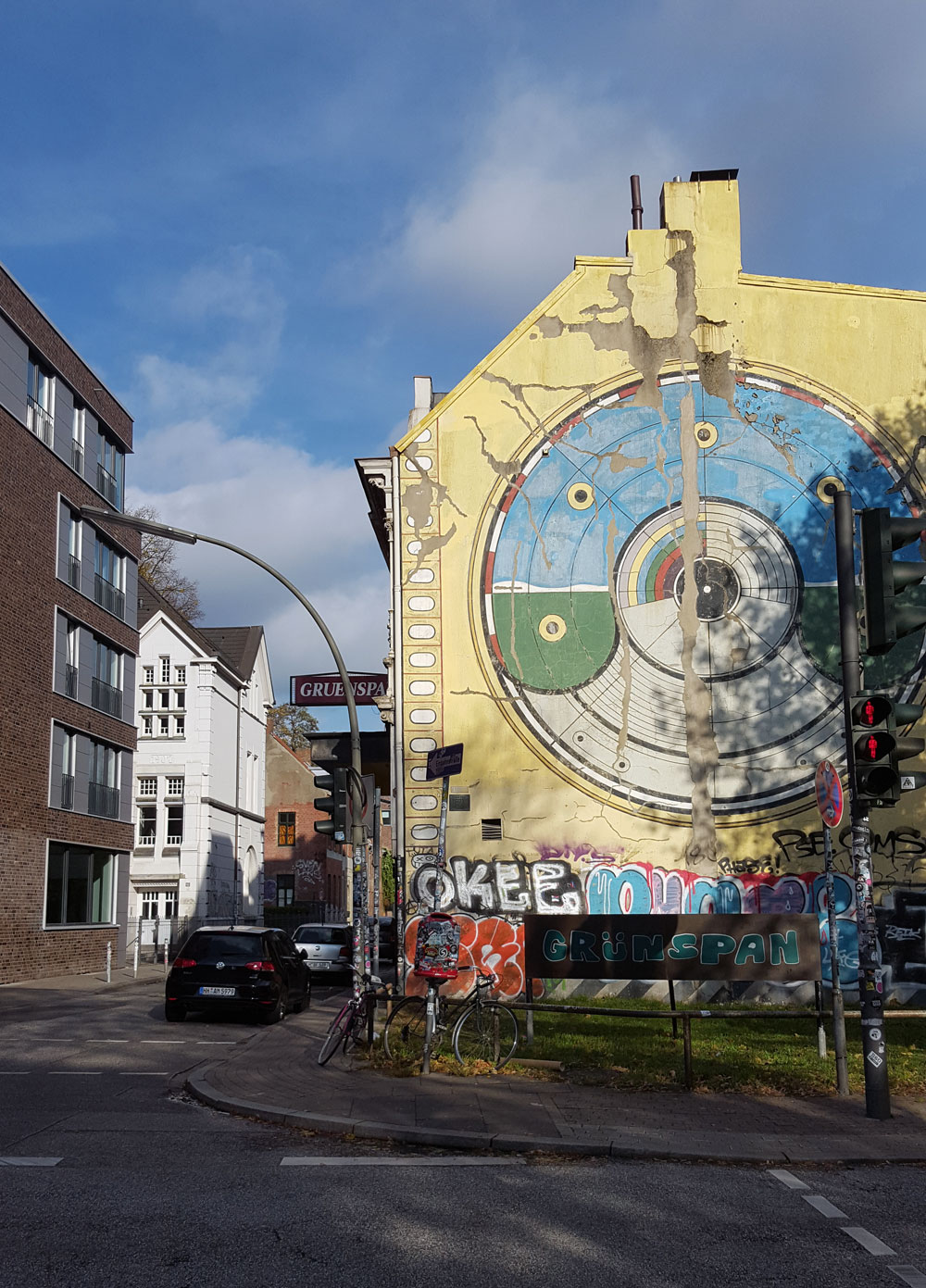 Musikclub Gruenspan -ein Konzerthaus in der Großen Freiheit Nr. 58 in Hamburg-St. Pauli.