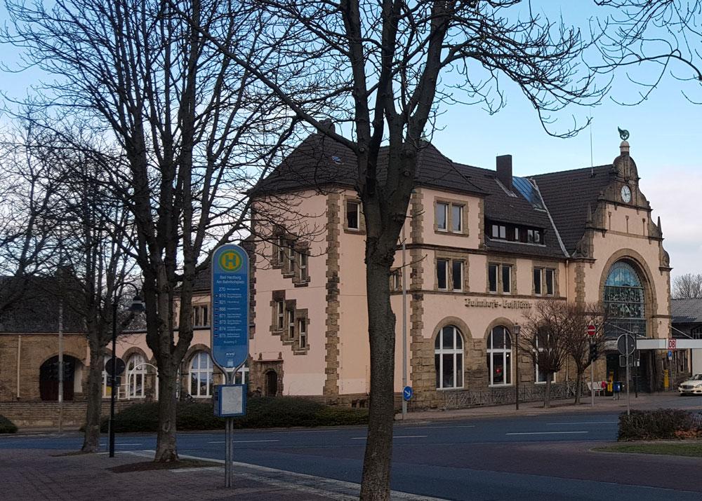 Der Bahnhof in Bad Harzburg