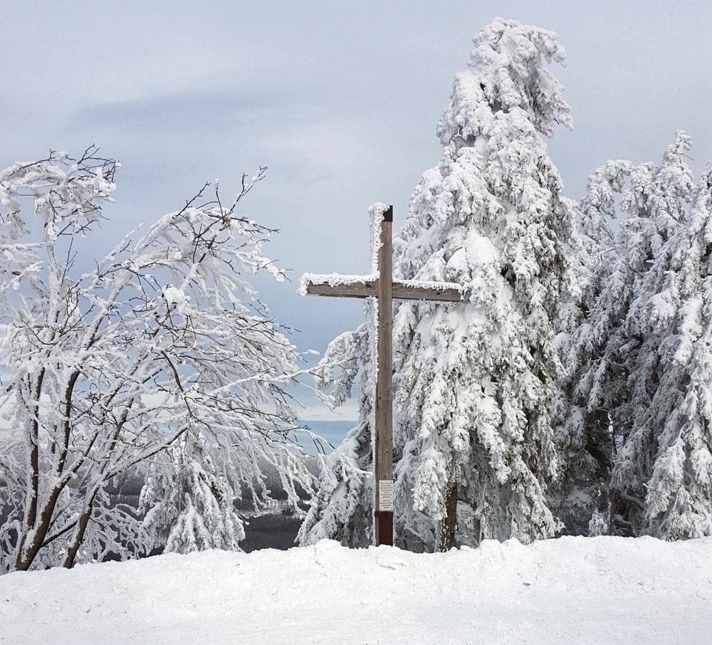 Gipfelkreuz auf dem Wurmberg