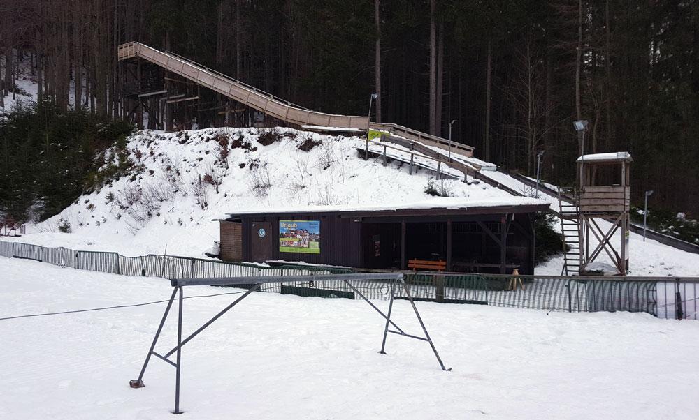 Zwergenschanze am Wurmberg