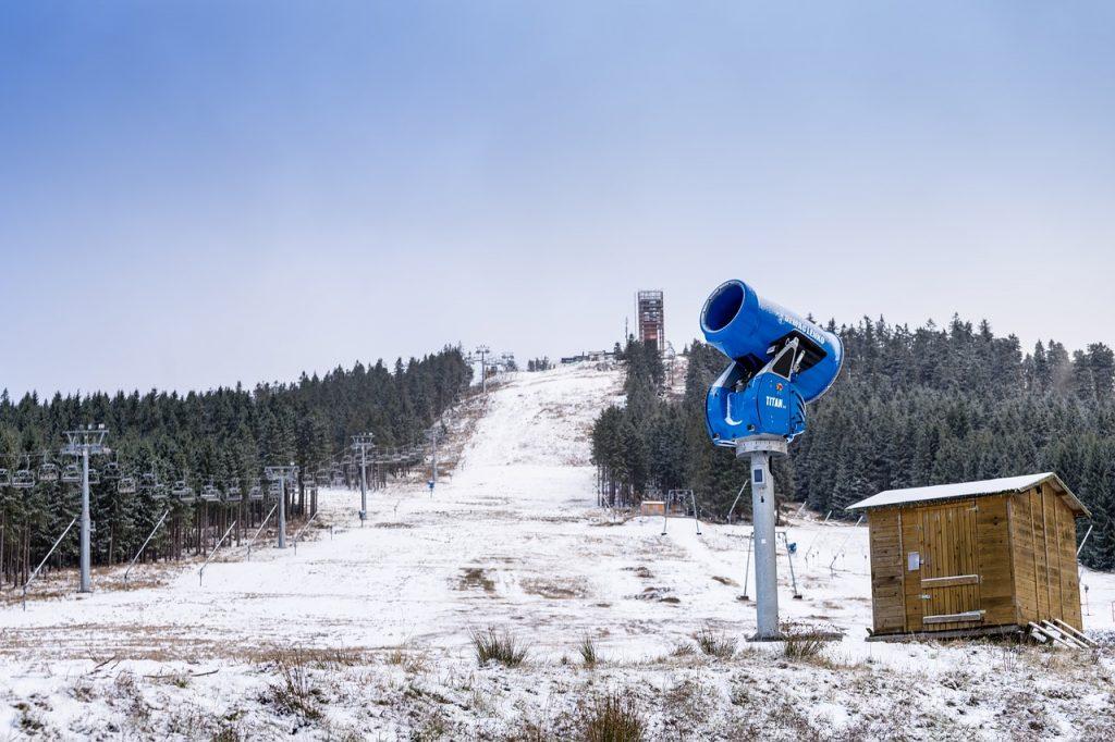 Schneekanone am Hexenritt am Wurmberg