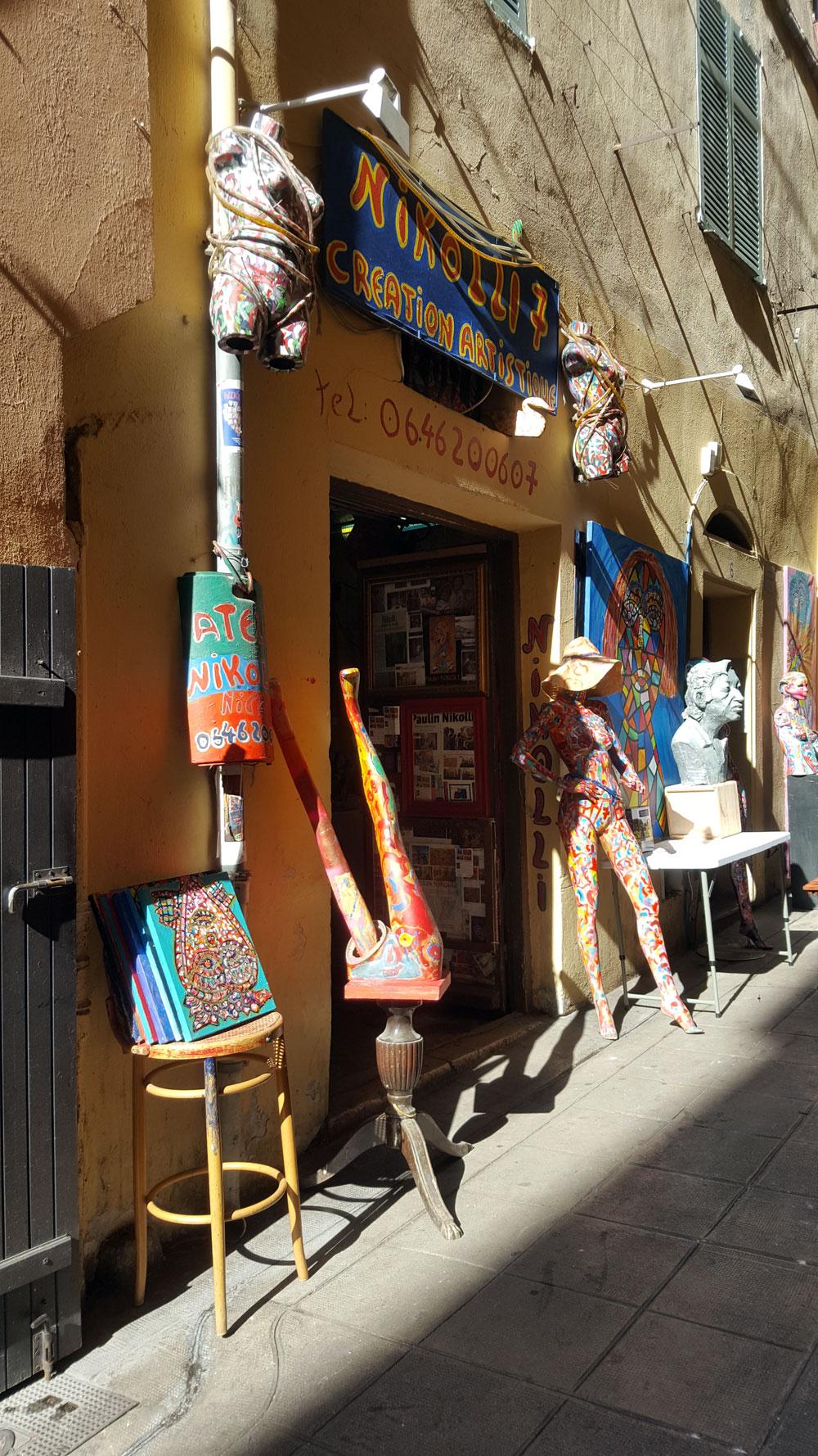 Atelier in der Altstadt von Nizza