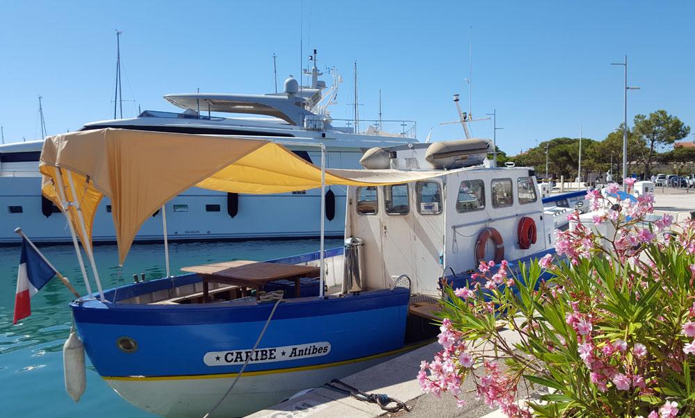 Port Vauban - Ein kleines Boot