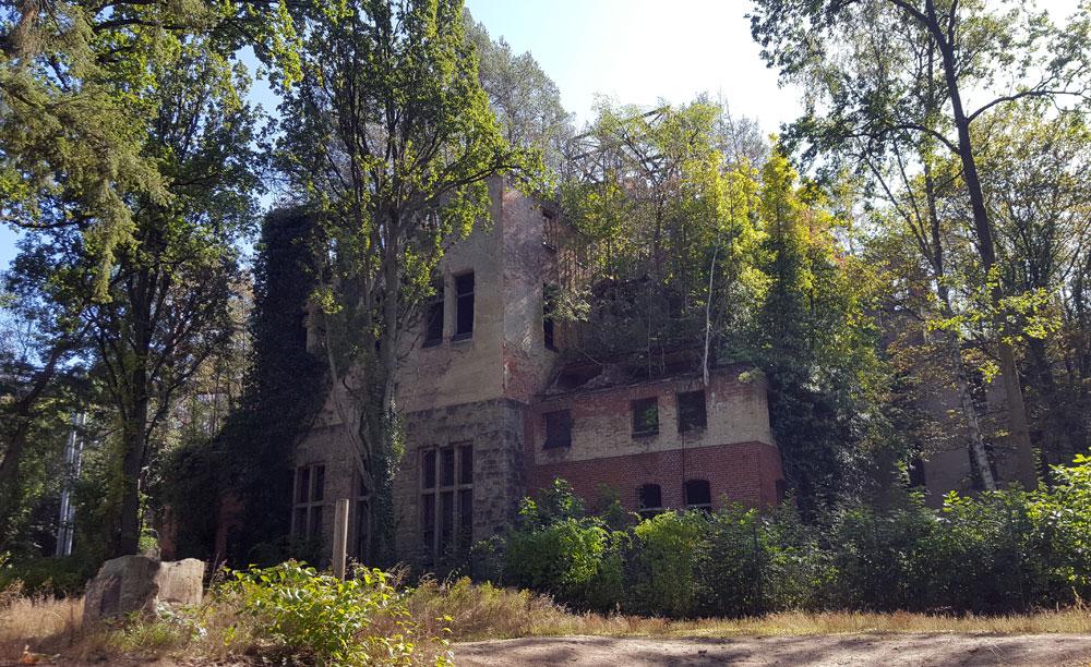 Das Alpenhaus - der Frauen-Pavillion der ehemaligen Heilanstalt