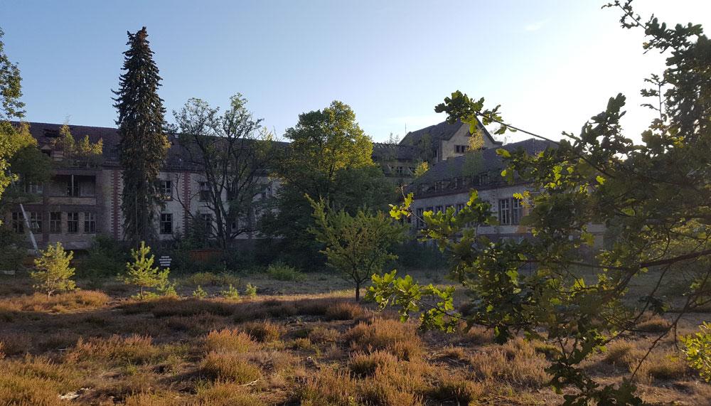 Der Chirurgie-Pavillion der ehemaligen Heilanstalt Beelitz-Heilstätten