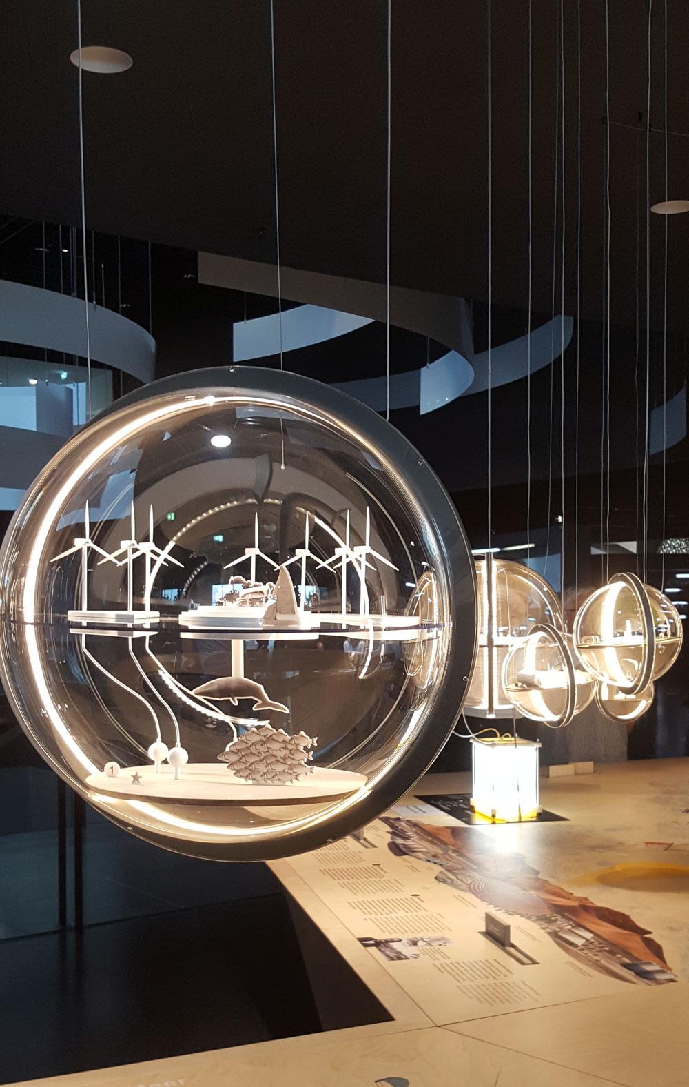 """Installaton zum Thema """"Energiegewinnung in der Zukunft"""""""