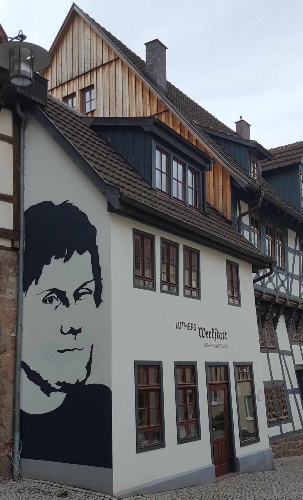 Die Lutherwerkstatt in der Eisenacher Altstadt