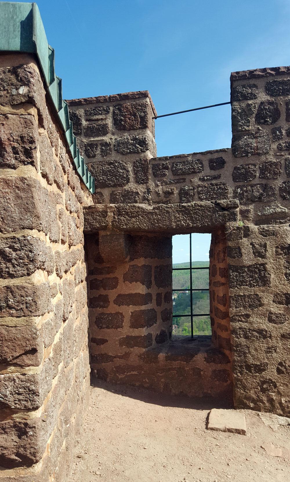 Festungsmauern der Wartburg