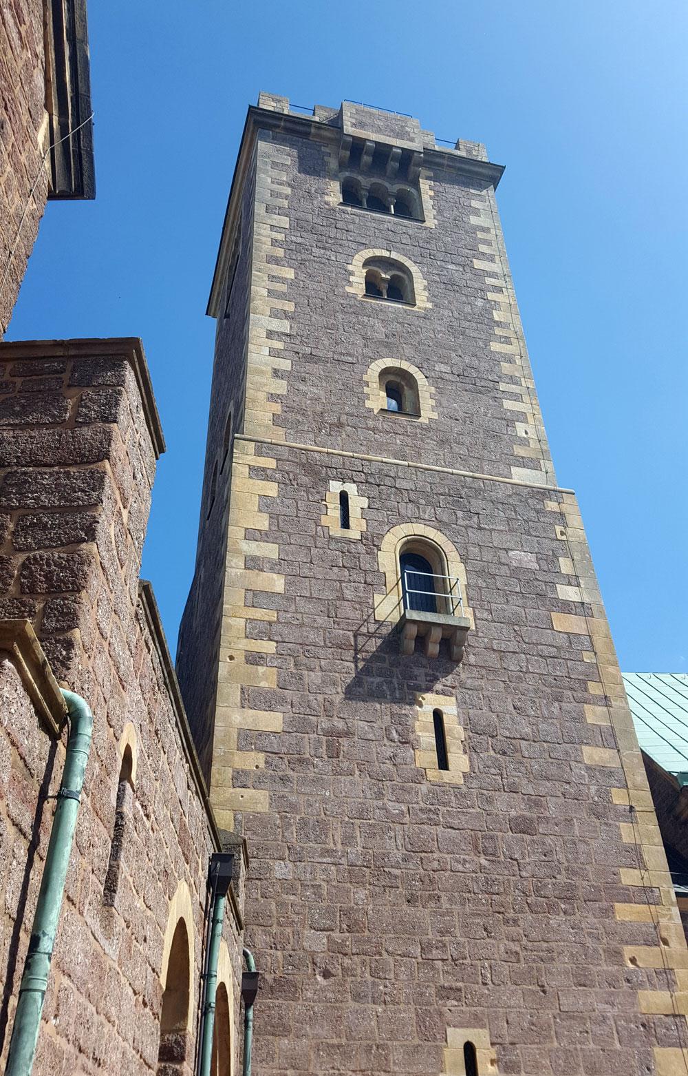 Der Bergfried - ein unbewohnter Wehrturm