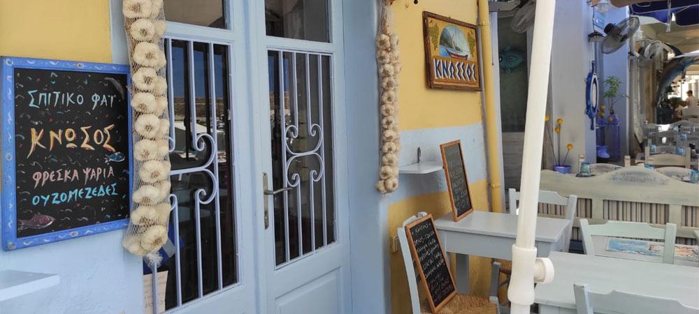 Taverne am venezianischen Hafen in Rhethymno