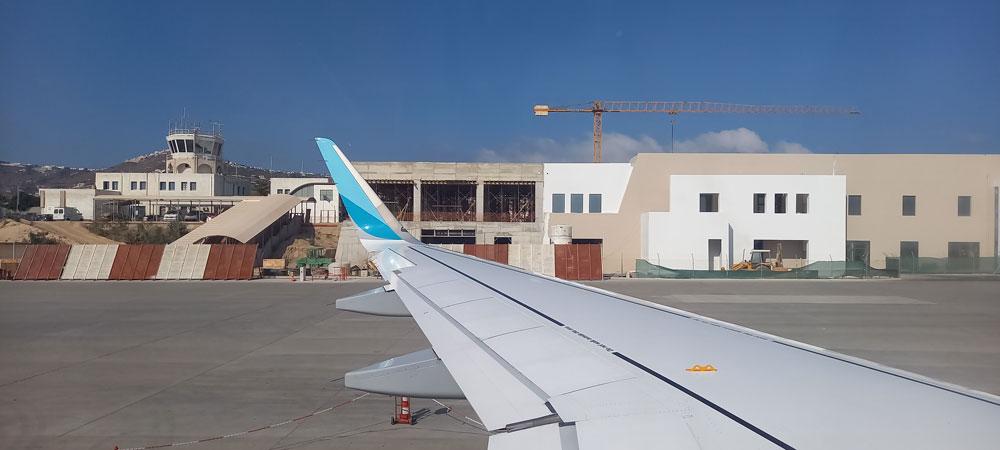 Flughafen Santorin