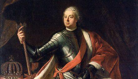 Friedrich Wilhelm I 1713 - Porträt von Samuel Theodor Gericke