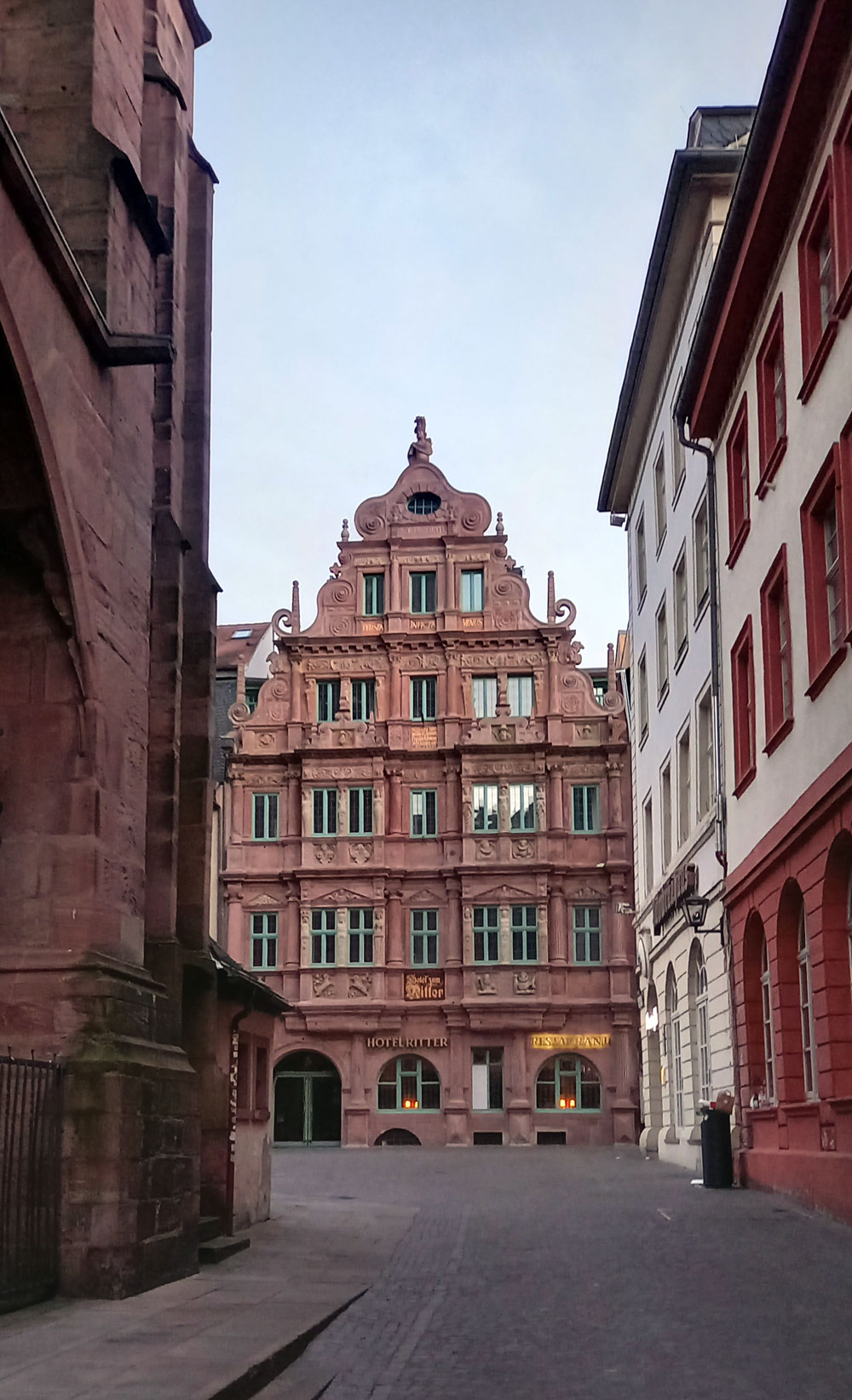 Hotel Ritter in der Heidelberger Altstadt